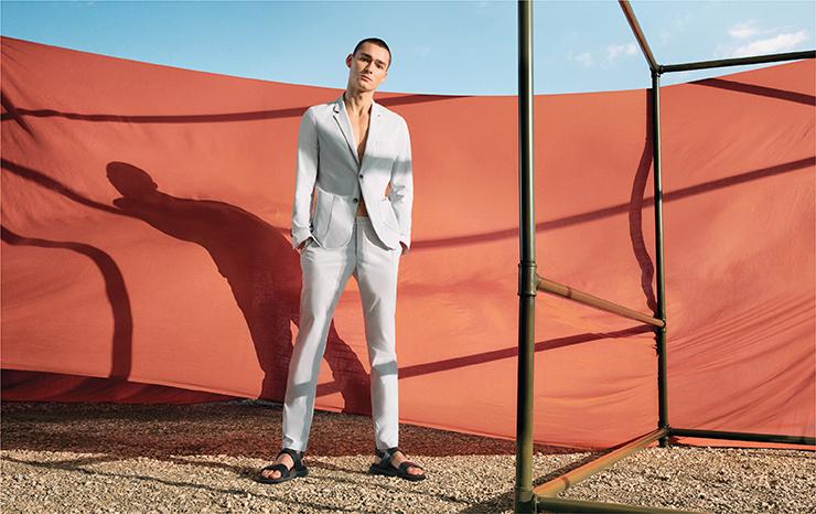 Machine Washable Suit Blazer 11111001 Machine Washable Chinos Flexi waist Design 11152001