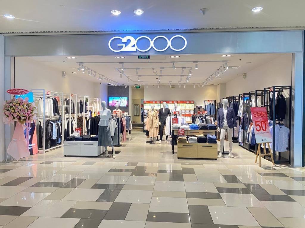 cửa hàng đồ công sở G2000