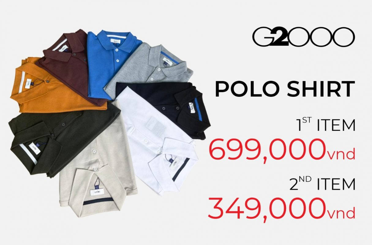 Offer for Polo shirt when buying 2nd product